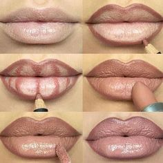 10 LIPS BEFORE AND AFTER CONTOURING