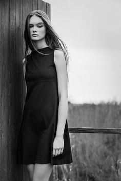 "Semplicity is a key design element, the innate essence of #AlphaStudio ""Tiffany"" dress   #SS2015 #knitwear #womenstyle #womenswear #fashion #womensfashion #tiffany #dress #blackdress #semplicity #design #florence #style #stylish #stylishoutfit #outfit #outfitoftheday"
