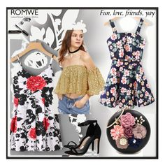 """Romwe 1"" by ajisa-ikanovic ❤ liked on Polyvore featuring By Lassen, WithChic, Boohoo, Élitis and Bobbi Brown Cosmetics"