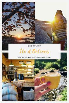 48 heures sur l'île d'Orléans | Claudia La Roadtrippeuse Weekend France, Road Trip, Destinations, Saint Jean, Quebec City, The Good Place, Alcoholic Drinks, Places, Travel