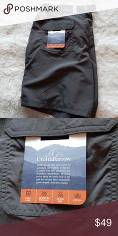 30283b5620 Mens Big and Tall Outdoor Quick Dry Shorts NWT!😎 Mens Big and Tall Outdoor  Quick Dry Shorts Size 48 croft & barrow Shorts Athletic