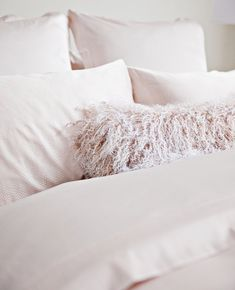The highest quality sheets on the market, period. Explore cotton, linen, bamboo, and more. People Sleeping, Old Room, The Blushed Nudes, Fine Linens, Decorative Cushions, Linen Bedding, Bed Linen, Light Beige, Pink Aesthetic