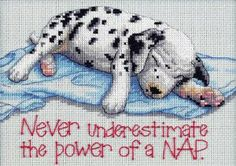 Dimensions Needlecrafts Counted Cross Stitch, Power Nap