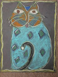 Do Art!: Laurel Burch Cats