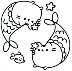 Pusheen Cat Coloring Pages Through The Thousand Photographs On The