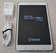 "Samsung Galaxy Tab 4 (SM-T230) 7"" Wi-Fi Android Tablet 8GB - White"