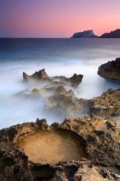 Preciosa foto Costa de Moraira. Fotografía de Jose B. Ruiz