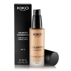 Unlimited Foundation - Novedad Base de Maquillaje Líquida - KIKO Milano