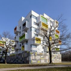 New Grove: Project: New Grove Architect: Architekti Sebo Lichy Project Location: Petrzalka, Slovakia Project Date: 2014The architect worked for several years in Vancouver and with that, he applied  the Canadian housing principle where the occupants can design and customize their own apartment due to the principles of flexible housing units to produce virtually unlimited number of variations. The clients can also design exterior as well at the beginning of the construction by selecting the…