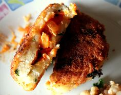 Chicken stuffed Patties