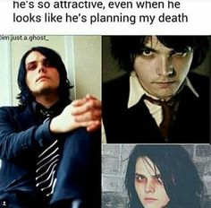 thank you Gerard I really want to die and now I don't even have to plan it myself