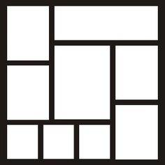 EZLaserDesigns : Template 7  scrapbook overlay layout