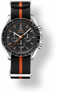 Omega Speedmaster Professional on a nato style strap Cool Watches, Rolex Watches, Wrist Watches, Omega Seamaster Quartz, Omega Railmaster, Omega Speedmaster Moonwatch, Swiss Army Watches, Luxury Watches For Men, Beautiful Watches
