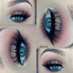 Elegant Summer Eye Makeup Look