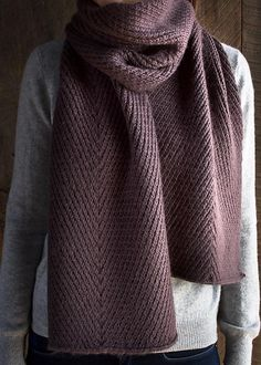 Ravelry: Diagonal Twist Scarf pattern by Purl Soho