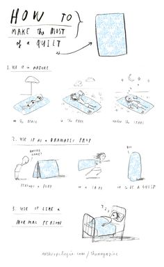 Making The Most Of A Quilt // Oliver Jeffers