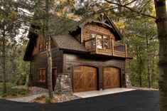Small Cottage Homes, Small Cottages, Cottage House Plans, Small Rustic House, Cottage Ideas, Tiny Homes, Garage Apartment Plans, Garage Apartments, Apartment Ideas