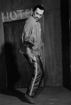 MANDARIN MERVEILLEUX (LE)  Chorégraphie : Maurice Béjart Musique : Béla Bartók Costumes : Anna De Giorgi (d'après les films de Fritz Lang) Dispositif scénique : Christian Frapin Réalisation lumière : Dominique Roman Création: Salle Métropole de Lausanne, 3 décembre 1992