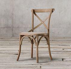 Inspiration Chair: Madeleine Fabric Side Chair, Restoration Hardware