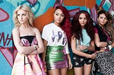 Little Mix.... Their not 1D but are kinda related.... They are amazing!!! The blonde is Zayns GF! #Zerrie