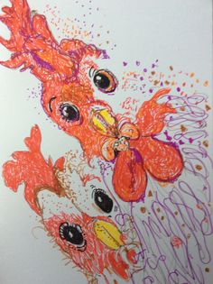 Birthday card by Artist Ann Lamb