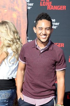 TAHJ MOWRY | Tahj Mowry at the World Premiere of THE LONE RANGER | ©2013 Sue ...
