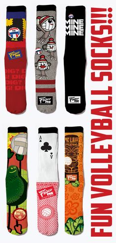 37196b6d7ac Loving These Volleyball Socks. Diy Volleyball Gifts