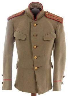 Model 1907 Imperial Russian WWI 2nd Lieutenant's tunic of 'Kittel'