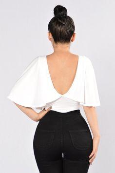 Frisky Bodysuit - White