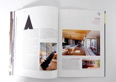 Monument Magazine Issue 103 by Michael Schepis, via Behance