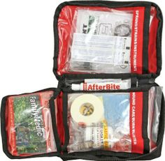 Adventure Medical Kits Family by Adventure Medical Kits. $24.00. Adventure Medical Kits Family First Aid Kit. Provides families with essential supplies for a 1-4 day trip. Includes updated new edition of Caring for Children in the Outdoors, a comprehensive guide to first-aid for children, covering topics such as how to treat sprains, fractures, and dislocations, plus handy guides on how to administer medications and how to dress more serious wounds. A wide range...