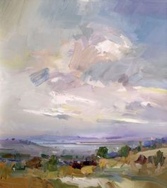 David Atkins: Autumn Skies, Chipping Campden Campden Gallery, fine art, Chipping Campden,