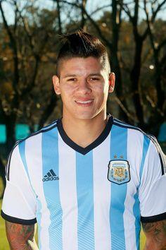 Jugadores de la selección Argentina Mundial Brasil 2014 - Marcos Rojo