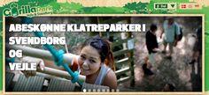 Lejrskole på Fyn. #lejrskole #fyn - Besøg #gorillapark - #GorillaPark på #sydfyn