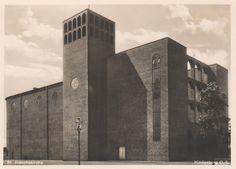 Böhm, Dominikus - Pfarrkirche St. Josef, Hindenburg / heute Zabrze, Poland (Parish Church of St. Joseph, Hindenburg / now Zabrze, Poland), 1929-1931