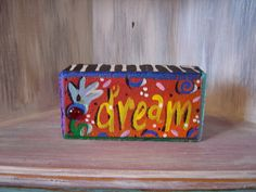 Dream Brick Whimsical Garden Art by KathyHyatt on Etsy, $18.00