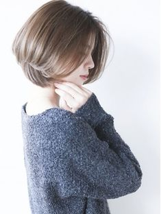 Pin on ショートヘア Short Hair Styles For Round Faces, Short Hair Cuts For Women, Medium Hair Cuts, Medium Hair Styles, Messy Short Hair, Asian Short Hair, Short Hair Wigs, Tomboy Hairstyles, Bob Hairstyles