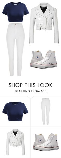"""""""Untitled #63"""" by kacis-kacis on Polyvore featuring River Island, Calvin Klein 205W39NYC and Converse"""