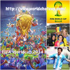 http://www.worldchatcup.com/ Copa do Mundo FIFA Brasil 2014 fever spread over all worlds. Use worldchatcup smart phone app to get all updates about World cup 2014. Worldchatcup also provide facility to do chat about Brazil 2014 FIFA world cup with friends and other fans.