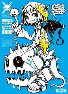 Character Concept, Character Art, Oc Manga, Estilo Rock, Goth Art, Arte Horror, Cyberpunk Art, Creepy Art, Flash Art