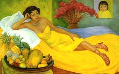 DIEGO RIVERA, Mexican painter of the 20th century