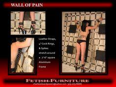Title Slide of Fetish Furniture Portfolio My Wife Is, Music Stuff, Kinky, Leather, Bed Ideas, Bedroom Ideas, Furniture, Playroom, Guitars