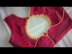 new and easy different model blouse neck designe cutting and stitching a.Hello Viewers Welcome To MMS DESIGNER. This video will show you how to create a beautiful and simple way MMS Latest Blouse Back Neck designs Easy Cutting and. Blouse Designs High Neck, Patch Work Blouse Designs, Pattu Saree Blouse Designs, Simple Blouse Designs, Stylish Blouse Design, Blouse Neck Designs, Latest Blouse Designs, Blouse Styles, Dress Designs
