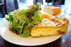今日のランチはまたまた石川亭まずは前菜のチーズとベーコンのキッシュふわふわでチーズ感がめっちゃ最高 #meallog #food #foodporn #豊洲ランチ #tw
