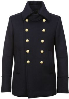 Balmain Wool Coat- 7112style.website -