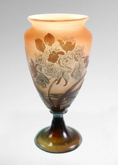 Galle Vase, Cameo Glass