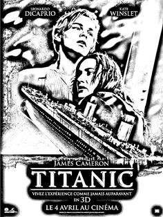 free coloring page coloring movie titanic a coloring page made with the fantastic - Titanic Coloring Pages Printable
