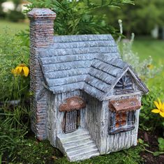 Nature's Haven- this little house looks like something you could stumble upon when you are wandering in the woods