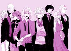 Death Note- L's Successorss' Team. Not a gif.
