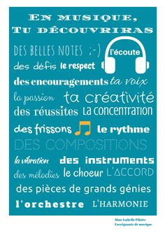 Poster – Poster by bisaelle Encouragement, Music Education, Music, Orchestra